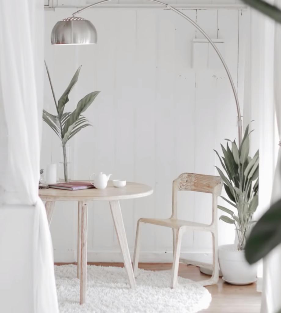 минималистичеый дизайн интерьера